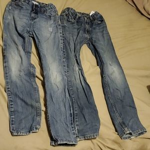 2 pairs of boys jeans size 10